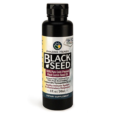 Premium Black Seed Oil 8 oz