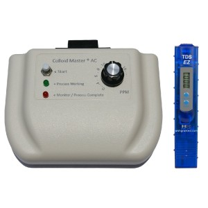 Colloidal Silver Generator with meter