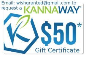 Kannaway fifty dollar gift certificate