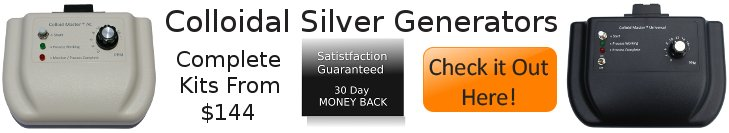 colloidal silver sale banner