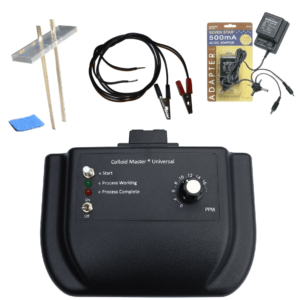 Premium Colloidal Silver Generator Mega Kit Works On Any Power Source best DYI colloid maker