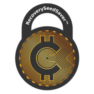 RecoverySeedSaver™  permanently protect passwords them from being lost to fire, water, and the ravages of time.