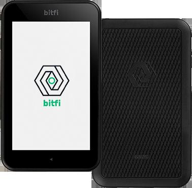 bitfi smartphone crypto wallet